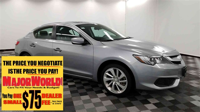 Acura Dealers Long Island >> Pre Owned 2018 Acura Ilx 2 4l 4d Sedan In Long Island City M43352