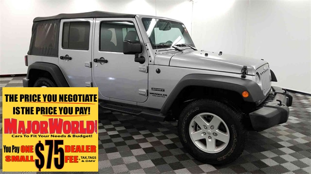Pre Owned 2017 Jeep Wrangler Unlimited Sport 4wd